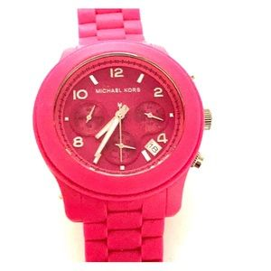 Michael Kors Fuschia Watch